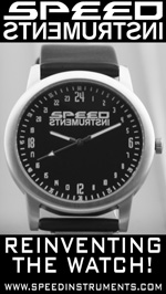 SPEED INSTRUMENTS 24-hour watches